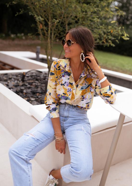 Patterned Eva shirt
