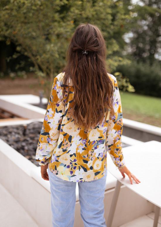 Chemise Eva à motifs
