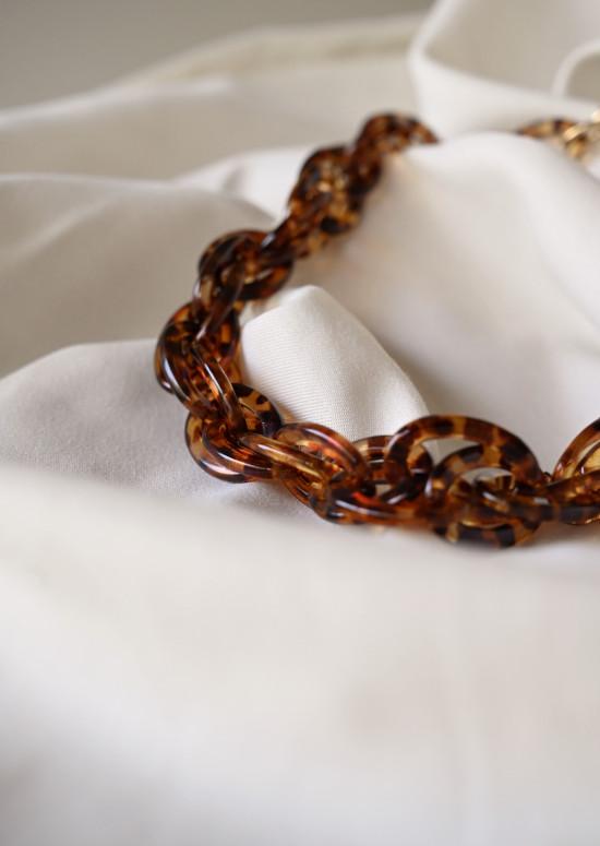 Laly tortoiseshell necklace