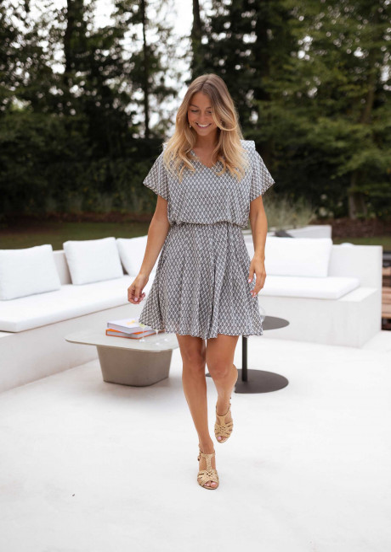 Patterned Lency dress