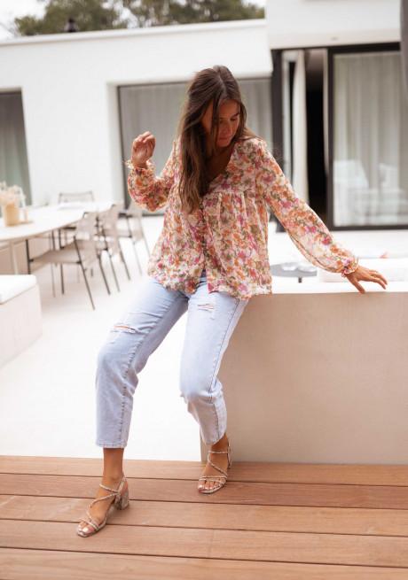 Floral Dilou blouse