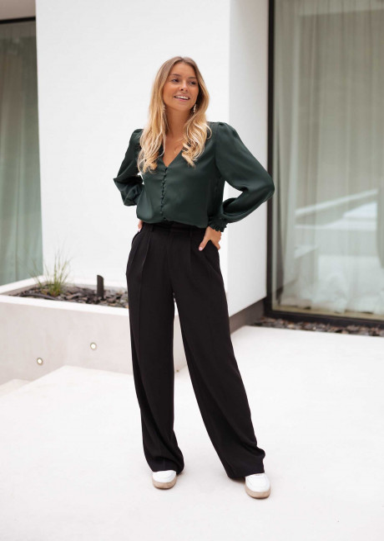 Green Daina blouse