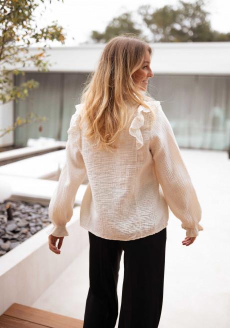 Ecru Mira blouse