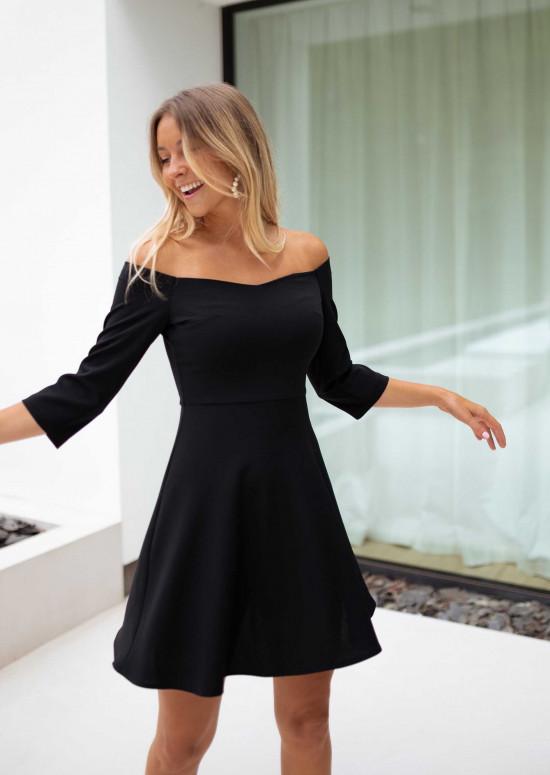 Black Piron dress - CREATION