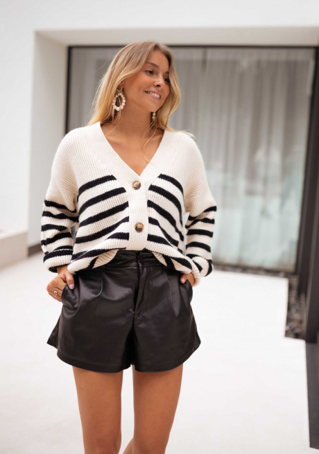 Elanore cardigan with lines