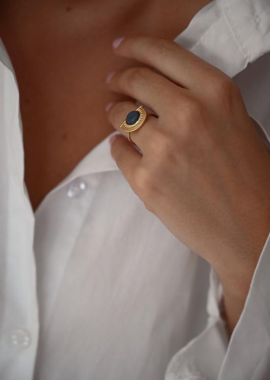 Golden Antou ring