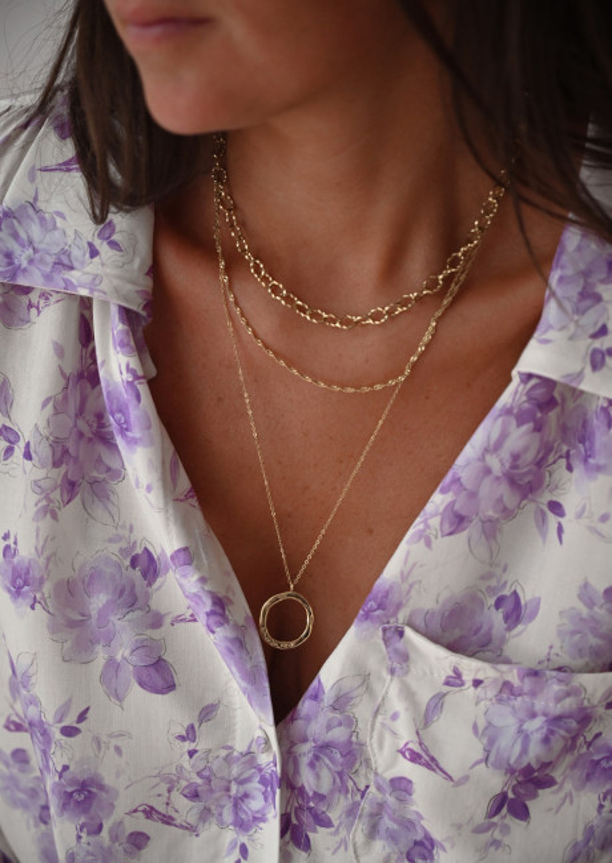 Golden Odin necklace