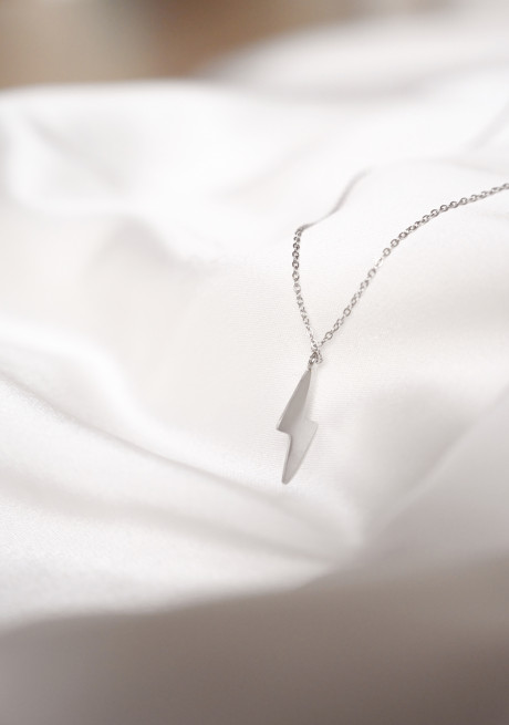 Silvery Flash necklace