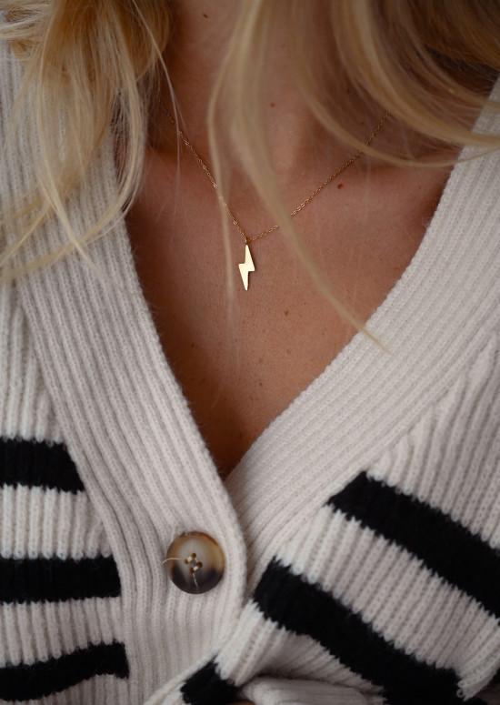 Golden Flash necklace