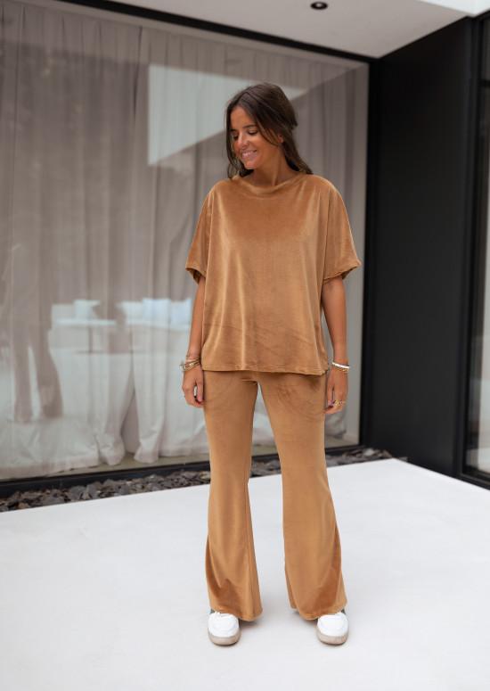 Ensemble homewear Orso camel