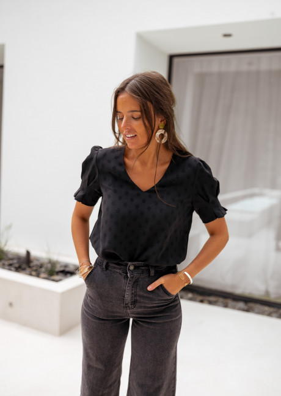 Black Daho blouse