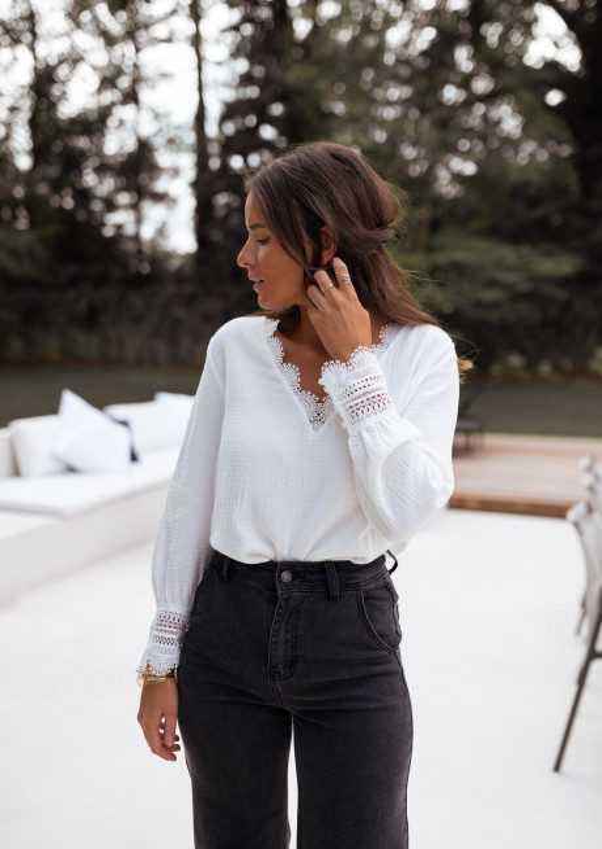 Ecru Marka blouse