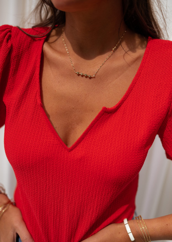 Body Eva rouge - Création