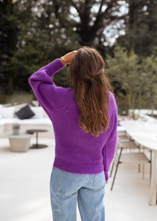 Mauve Simon Sweater