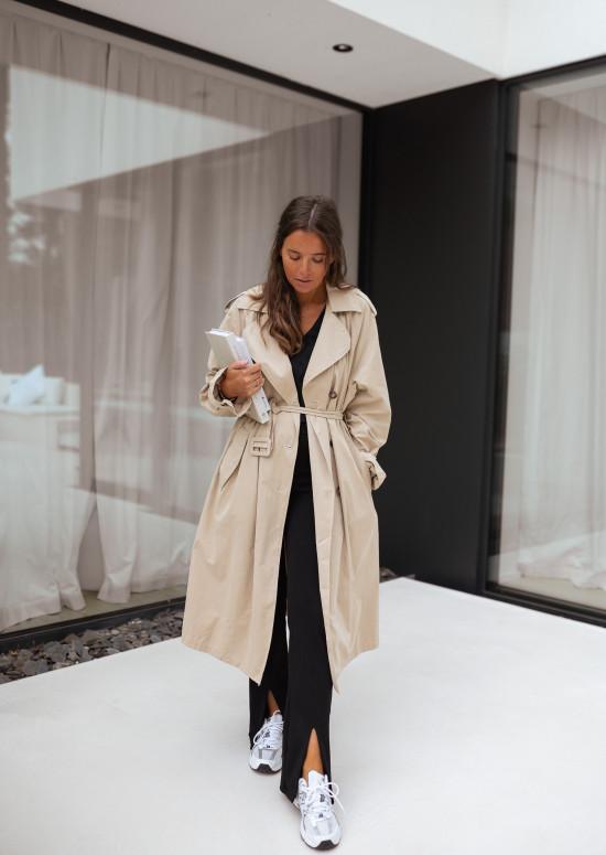 Jude beige trench coat