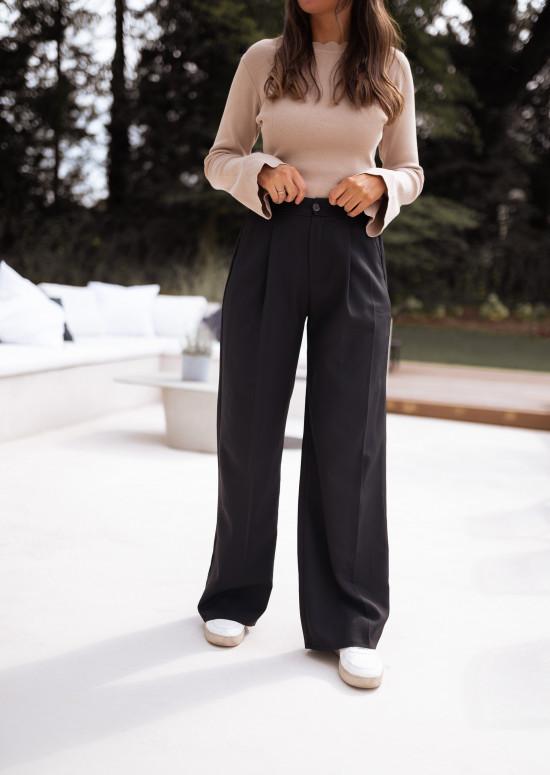 Black Anas Pants