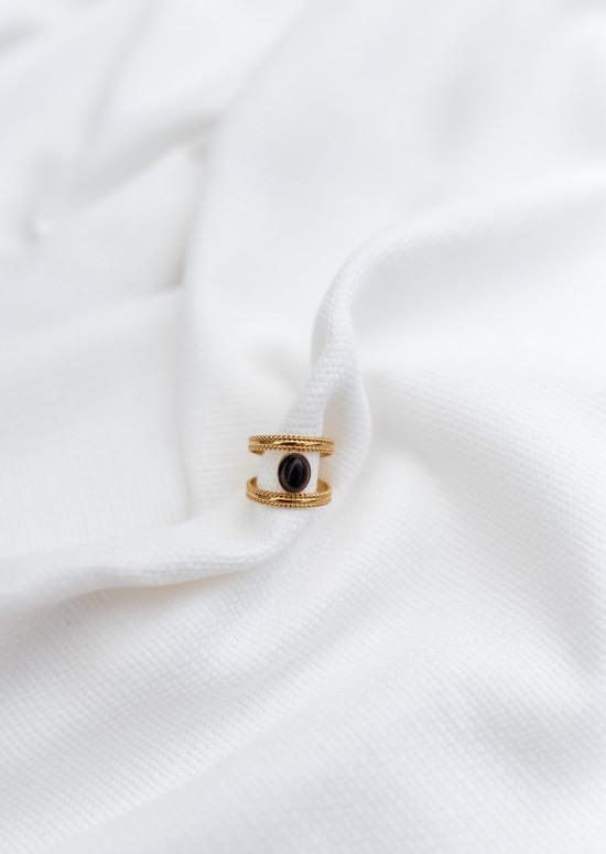 Golden Bilou ring