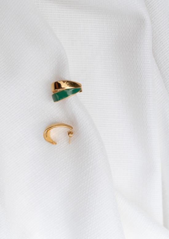 Green Filou Earings