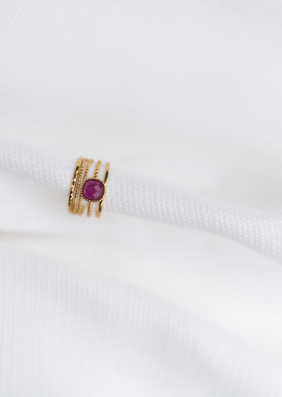 Golden Lya ring