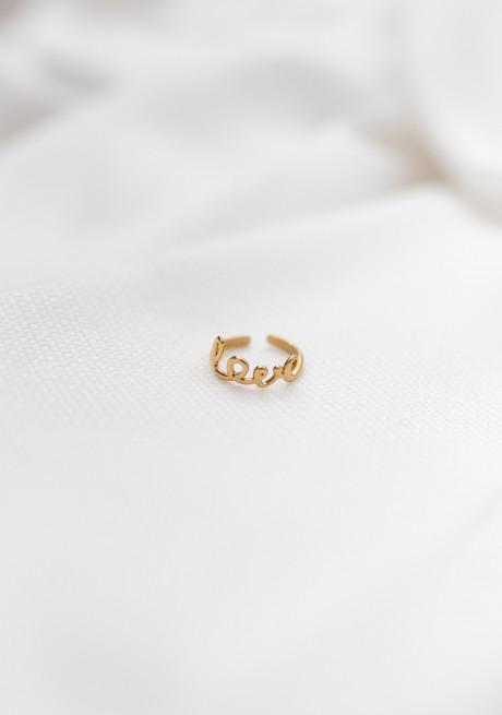 Golden Lovy ring