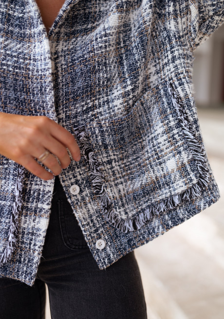 Blue Robbie jacket
