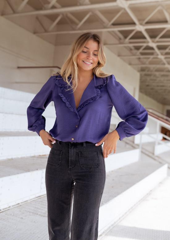 Purple Carly shirt