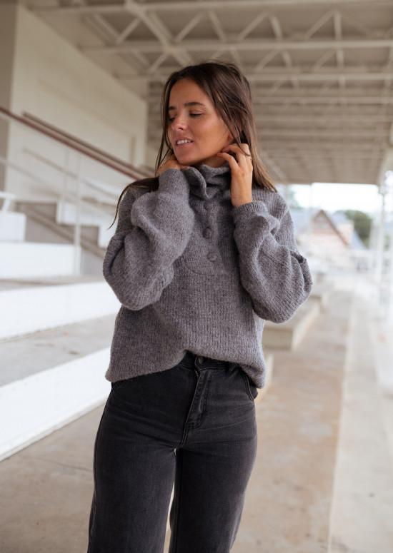 Grey Bristol sweater