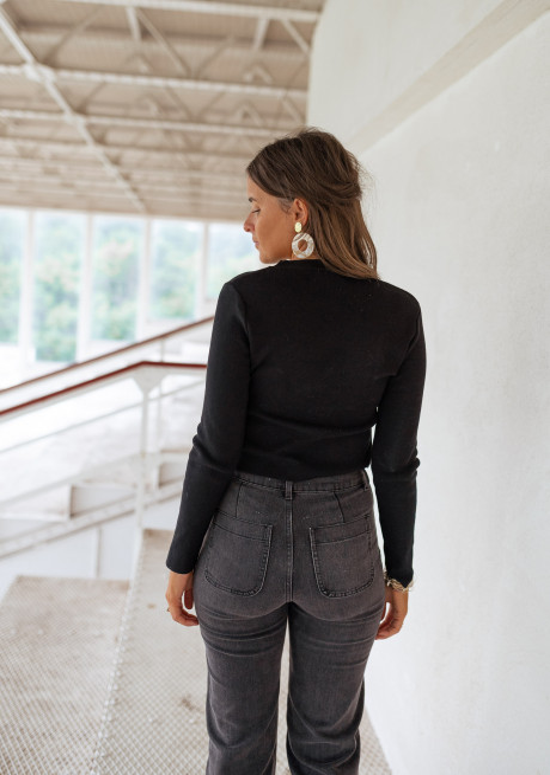Black Cruz sweater