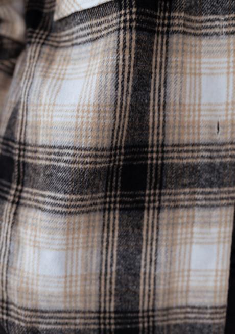 Checkered Peyo overshirt