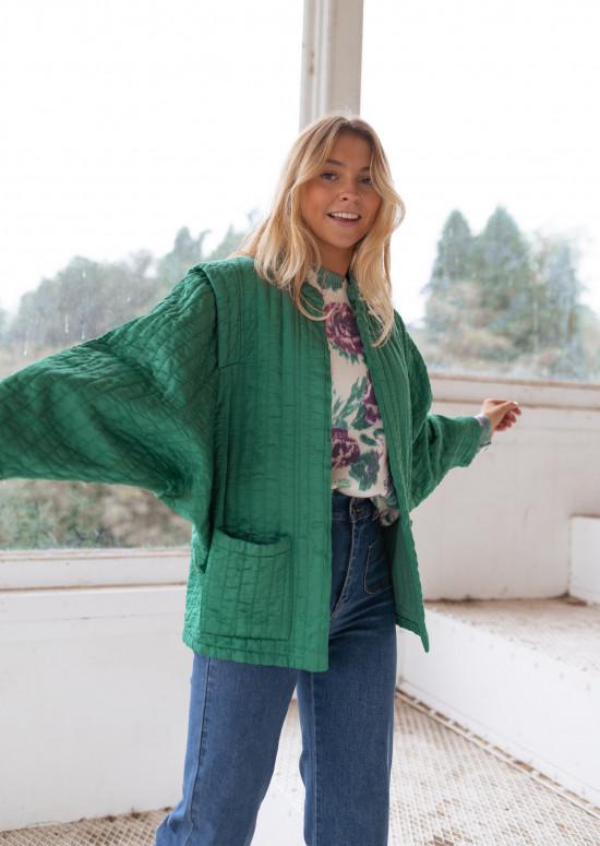 Green Gail jacket