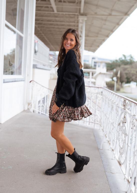Floral Marine skirt