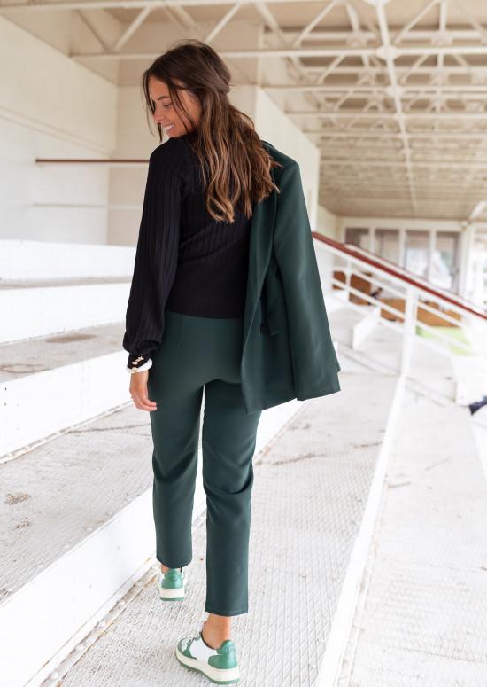Bottle green Manie pants