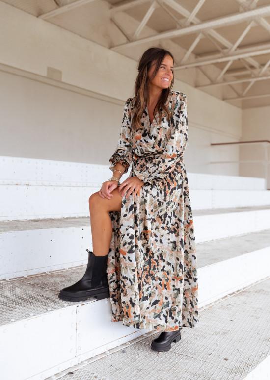 Patterned Diane dress