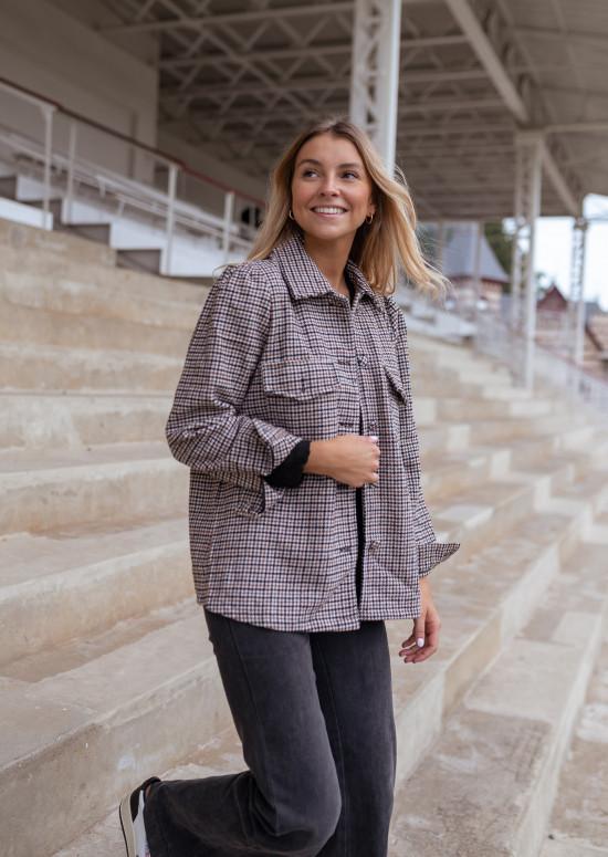 Checkered Melindy jacket