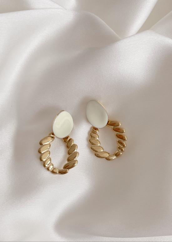 Golden Baki earrings