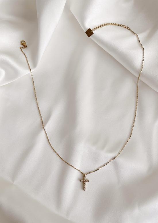 Golden Mark necklace