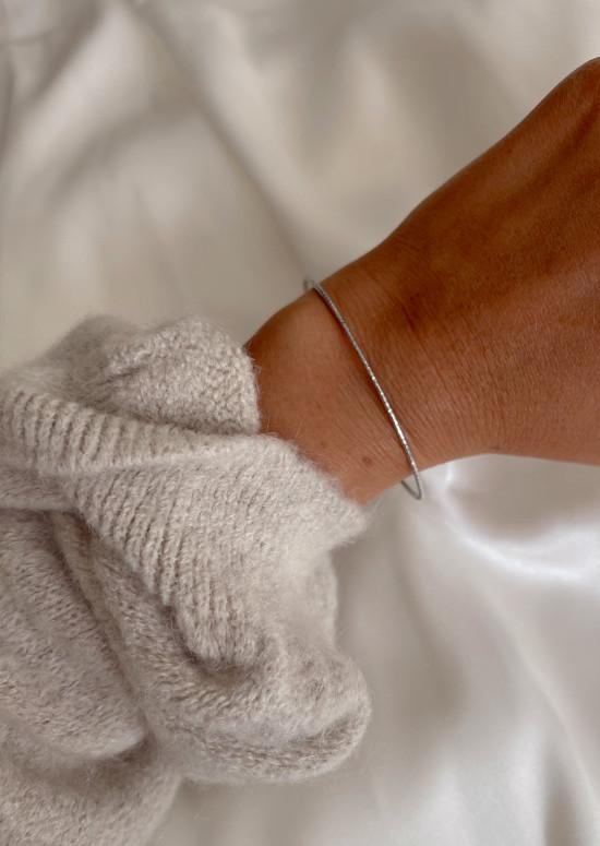 Silvery Emerie bracelet