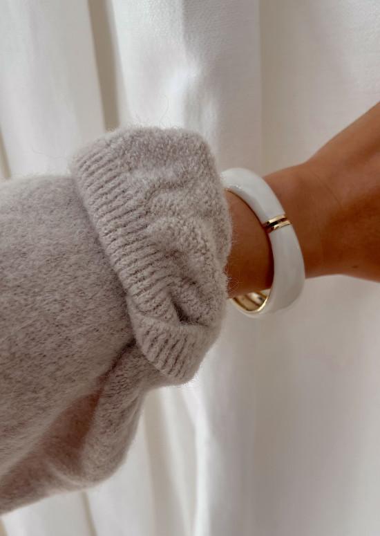 White and golden Danilo bracelet