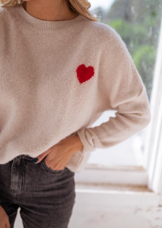 Beige Smith sweater