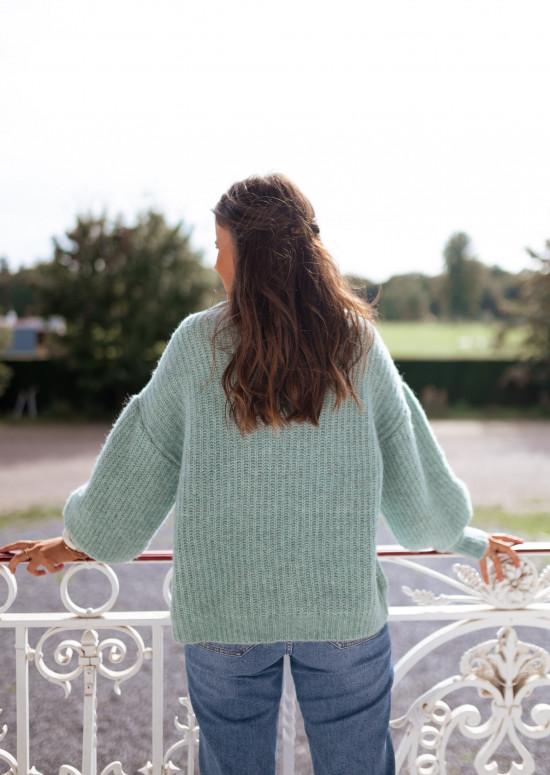 Sea green Nelson sweater