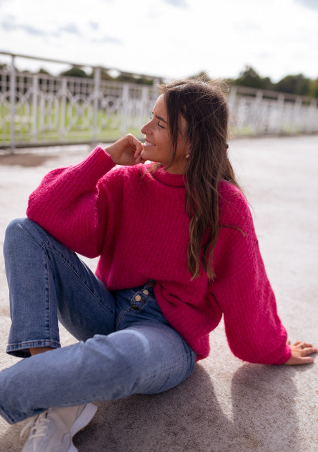 Pink Nelson sweater