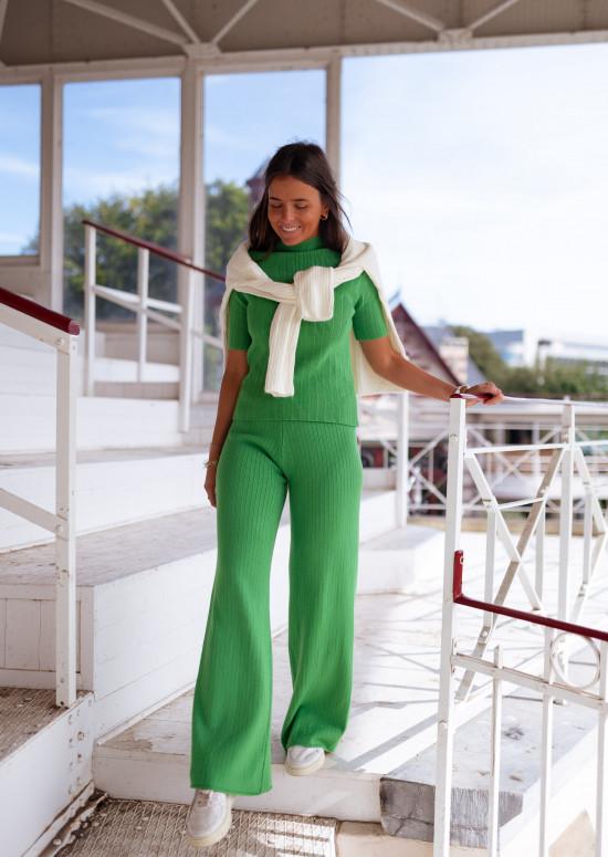 Green Neva pants