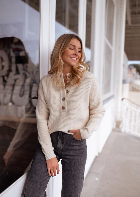 Beige Sallie sweater