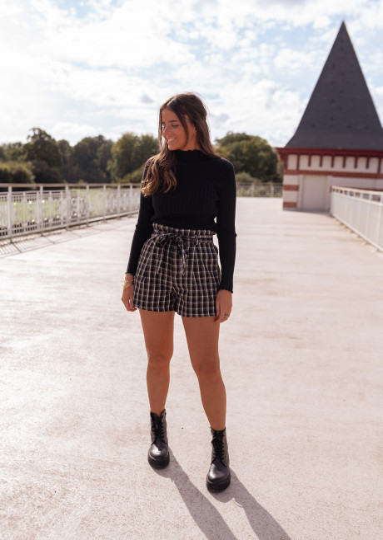 Checkered Kela shorts