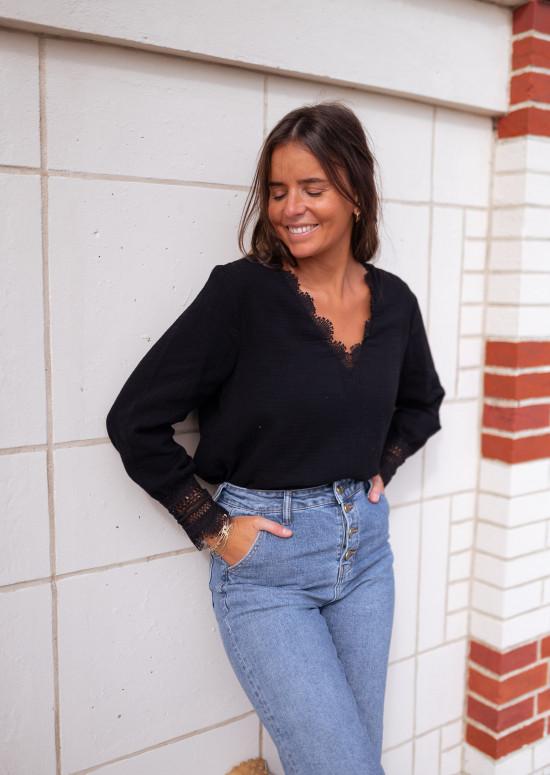 Black Marka blouse