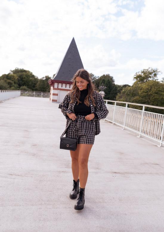Checkered Gala jacket