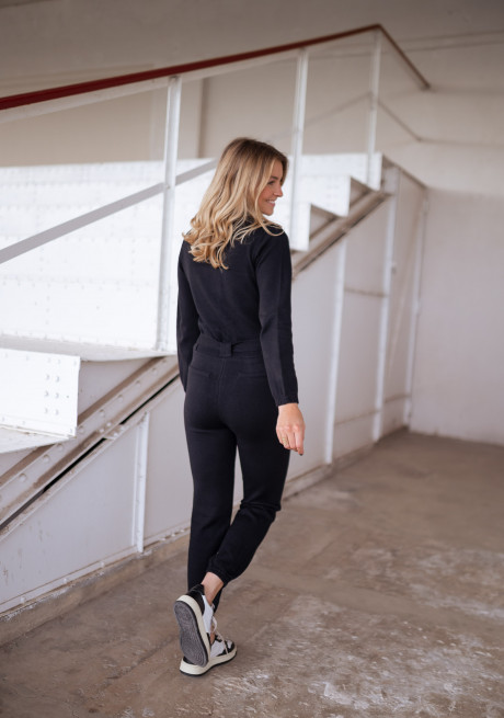 Black Henra jumpsuit