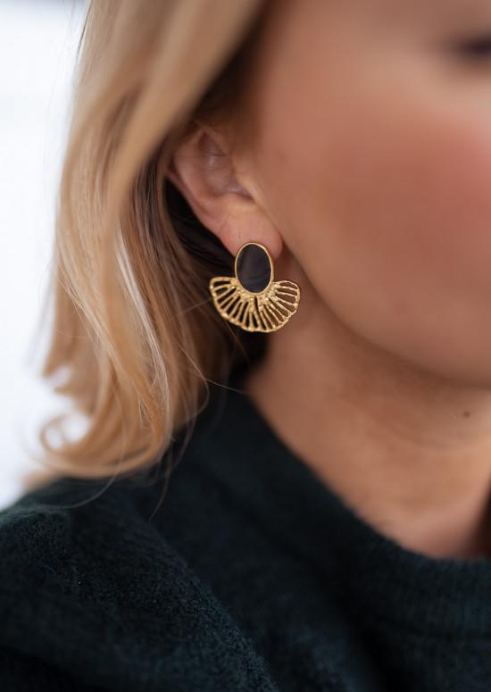 Golden Nils earrings