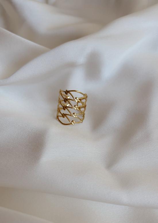 Golden Blair ring