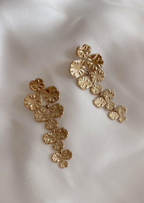 Golden Cherry earrings